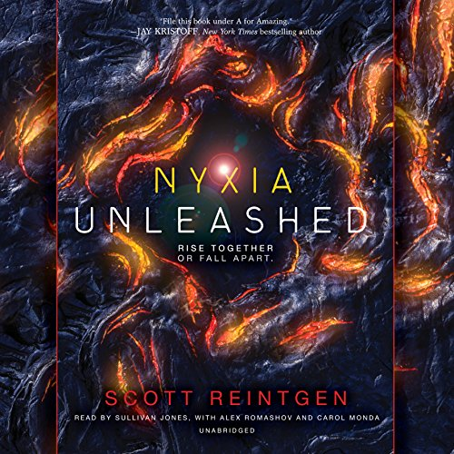 Nyxia Unleashed audiobook cover art