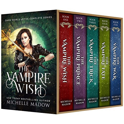 The Vampire Wish: The Complete Series (Dark World) audiobook cover art