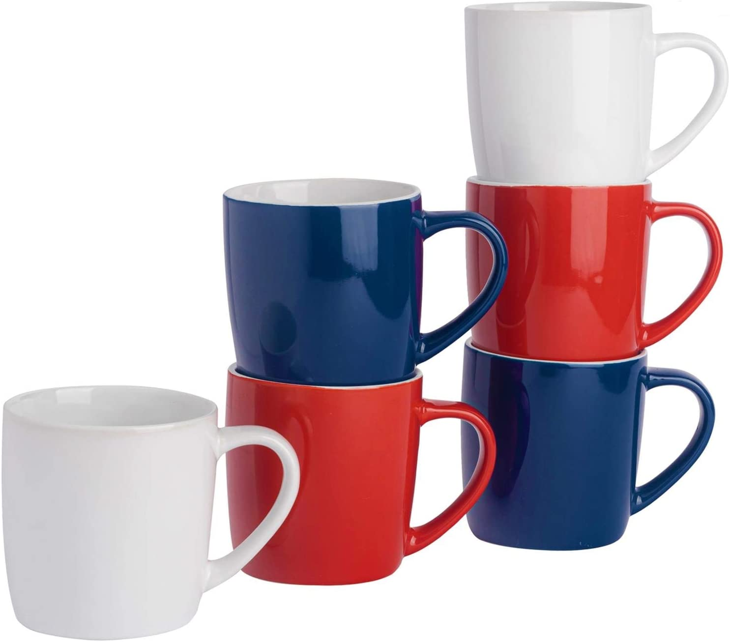Max 79% OFF Argon Tableware In a popularity Tea Coffee Mugs Coloured Contemporary - Cera 6pc