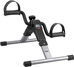 AGM Mini-trainingsapparaat voor fiets, arm- en beenpedaal, met LCD-monitor en verstelbare weerstand, thuistfitness, weerst...