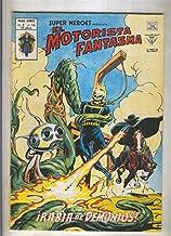 Super Heroes volumen 2 numero 110: El Motorista Fantasma (numerado 4 en trasera)