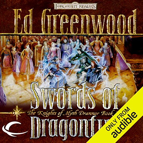Swords of Dragonfire audiobook cover art