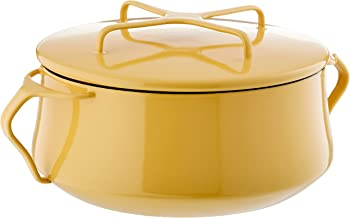 Dansk Yellow Kobenstyle 2 Qt. Casserole, 4.50 LB