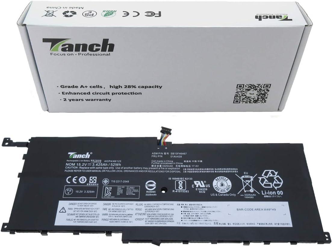 Tanch Laptop Battery SB10F46467 01AV458 Leno 00HW028 for Max 51% OFF 01AV438 Reservation