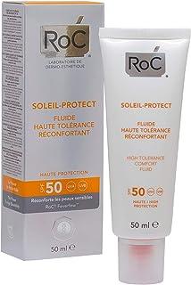 ROC Soleil Protect - Fluido Dermocalmante Alta Tolerancia SPF50 50 ml