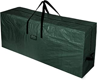 BOTINDO Christmas Tree Storage Bag, Large Zippered Xmas Tree Bag with 2 Reinforced Handles, Un-Assembled Artificial Christmas Tree Organizer-L