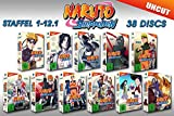 Naruto Shippuden Edition (Staffel 01-12 auf 38 DVDs) (exklusiv bei Amazon.de)