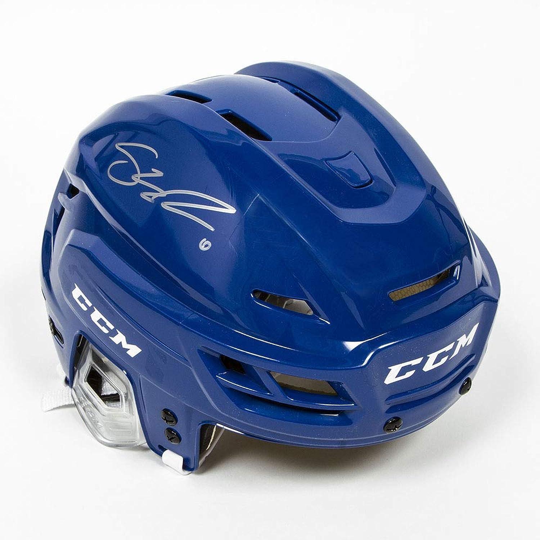 Shea Weber Autographed blueee CCM Hockey Helmet  Montreal Canadiens