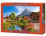 Castorland Kandersteg, Switzerland 500 pcs Puzzle - Rompecabezas (Switzerland 500 pcs, Puzzle Rompecabezas, Paisaje, Niños y Adultos, Niño/niña, 9 año(s), Interior)