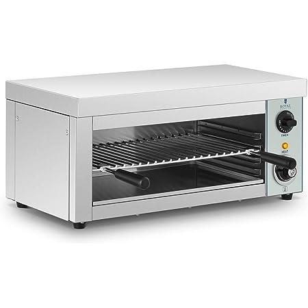 Royal Catering - RCES-2000-EGO - Tostador industrial - 2.000 Watt - 1 resistencia de infrarrojos