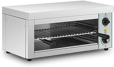 Royal Catering Salamandre Toaster Electrique Grill Cuisine RCES-2000-EGO (2.000 W, 32 x 61 x 28,50 cm, 1 élément chauffant...