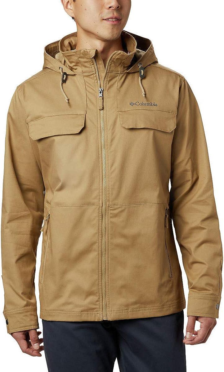 Columbia Men's Tummil Pines Hooded Jacket, Versatile, Cotton Blend