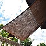 Sunlovers(サンラバーズ)日除け シェード オーニング (200×200cm) モカ【3年間の安心保証】