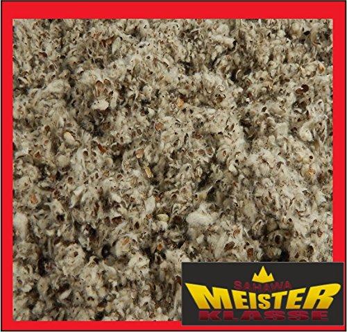 SAHAWA® 02001 Baumwolleistreu 15 L , Nestbaumaterial, Einstreu für Meerschweinchen, Hamster, Zwergkaninchen, Mäuse