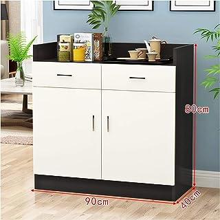 Accueil Solide Cabinet Enfilade Convenience Armoire Au Sol Accueil Utilisation Cuisine en Bois Armoire de Rangement Restau...