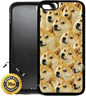 Custom iPhone 7 Plus Case (Mr Doge Meme) Edge-to-Edge Rubber Black Cover with Shock and Scratch Protection | Lightweight, Ultra-Slim | Includes Stylus Pen by Innosub
