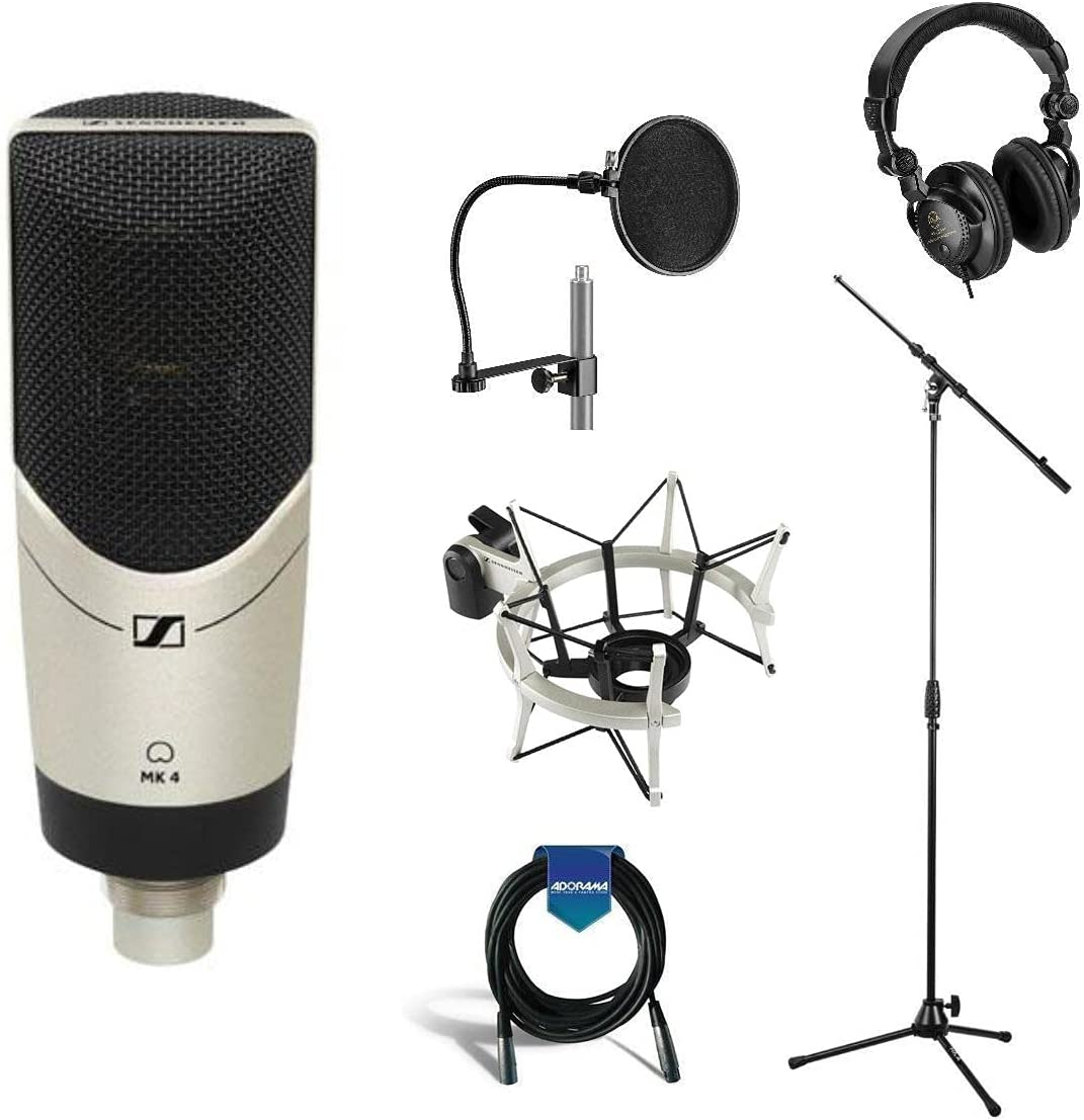 Sennheiser MK 4 Studio Challenge the lowest price of Japan ☆ Condenser with Setup NEW Recording Microphone
