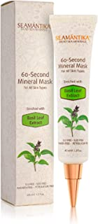 Mineral Face Mask anti wrinkle cream, 60 Seconds Mask Instant skin Rejuvenation treatment, Anti-Aging Facial Mask Restore Glow - by SEAMANTIKA (Wrinkle Cream mask)