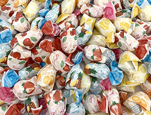 Arcor Fruit Filled Assorted Bon Bons Hard Candy, Bulk Candies (Pack of 2 Pounds)