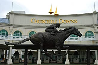 Home Comforts Churchill Downs Barbaro Kentucky Derby Vivid Imagery Laminated Poster Print 11 x 17