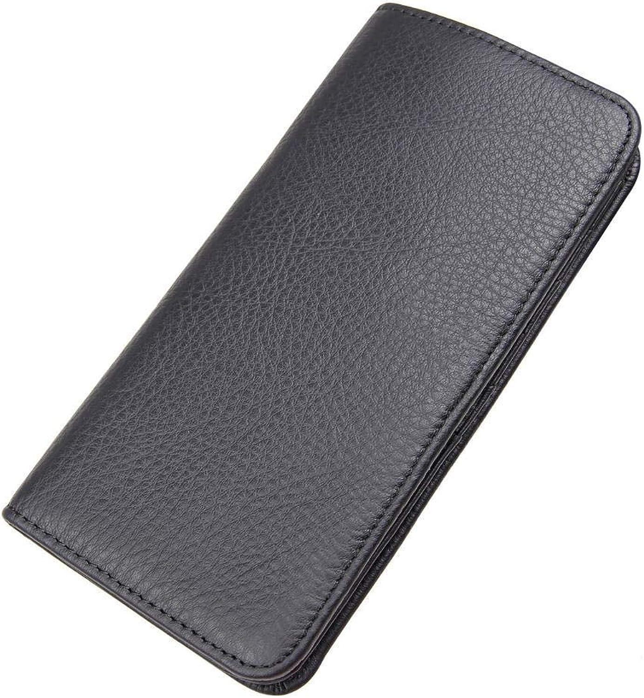 68ffe41783ba Circlefly Leder Geldbörse langjährige Kupplung Leder Brieftasche ...