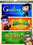 Coraline/ParaNorman/The Boxtrolls [Edizione: Regno Unito] [Import Italien]