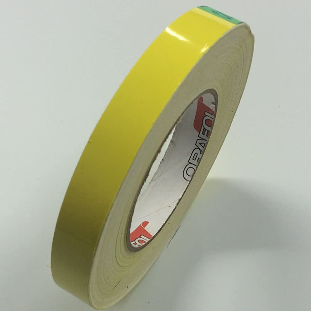 ORACAL 651 Vinyl Pinstriping Tape - Stripe Decals, Stickers, Striping - 1/4 Light yellow