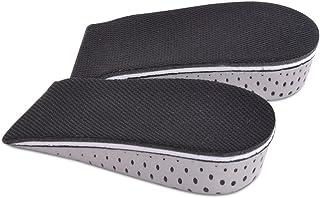 TININNA 1 par Espuma de la Memoria Respirable Altura Invisible Aumento Zapato Almohadillas Plantillas para Hombres Mujeres,2.3 cm
