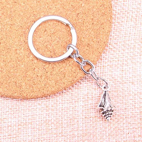ZHTTCD schelp charm hanger sleutelhanger sleutelring ketting accessoires sieraden maken voor geschenken
