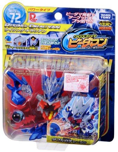 Takara Tomy (Japan) Cross Fight B-Daman eS CB-72 Starter Rising = Dracyan Power Type