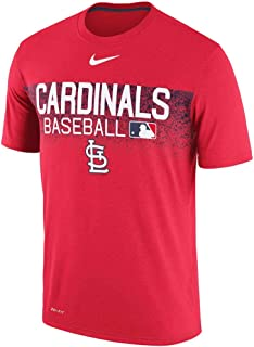 St. Louis Cardinals Authentic Collection Legend Team Issued Performance T-Shirt - Red