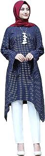 Baixnsj women Dress long sleeve Polka dot arabic style abaya summer dress
