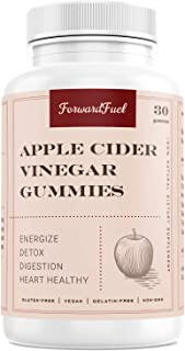Apple Cider Vinegar Gummies, Pure Organic Gummy for Weight Loss, Natural Herbal Colon Cleanse and Appetite Suppressant, Non-GMO and Gluten Free