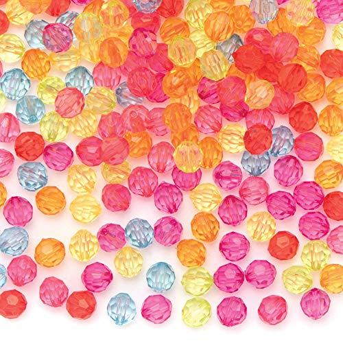 Baker Ross Transparante Regenboog Kralen (300 stuks) Knutselspullen en Kralen voor Kinderen