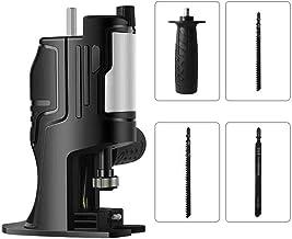 Black Electric Drill - Adaptador para sierra de sable multifunción, para trabajos de madera y metal