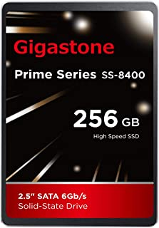 "Gigastone 256GB 内蔵 2.5インチ SSD 3D NAND搭載 SATA III 6Gb/s 2.5 inch 7mm (0.28"") 最大読み込み速度 550MB/s 3年保証"