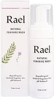 Rael Natural Feminine Cleansing Wash - For Sensitive Skin - Light and Fresh Scent 5 oz (1 Pack)