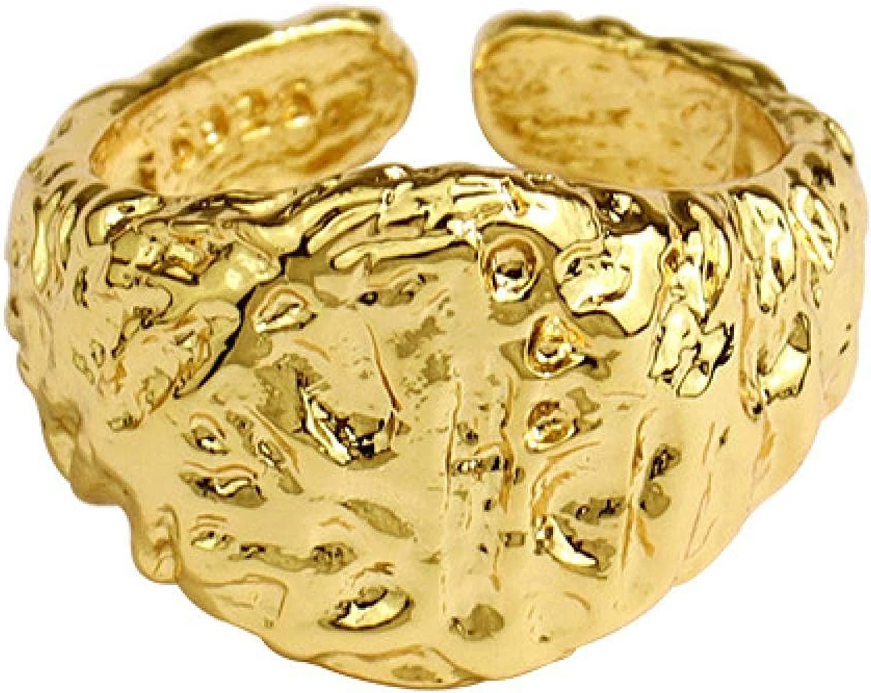 Sterling Silver Party Rings Charlotte Mall Fashion Simple Fees free Handma Geometric Oval