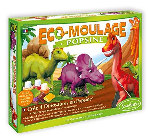 Sentosphere Sentosphère 2632Freizeit Stickermaschine–eco-moulage–popsine: Die Dinosaurier