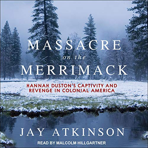 Massacre on the Merrimack audiobook cover art