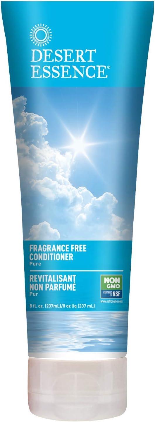 Desert Essence Fragrance Free Conditioner - Pure - 8 Fl Ounce -