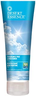 Desert Essence Fragrance Free Conditioner - Pure - 8 Fl Ounce - Gloss & Shine - Smoothes & Softens Hair - No Oil Residue -...