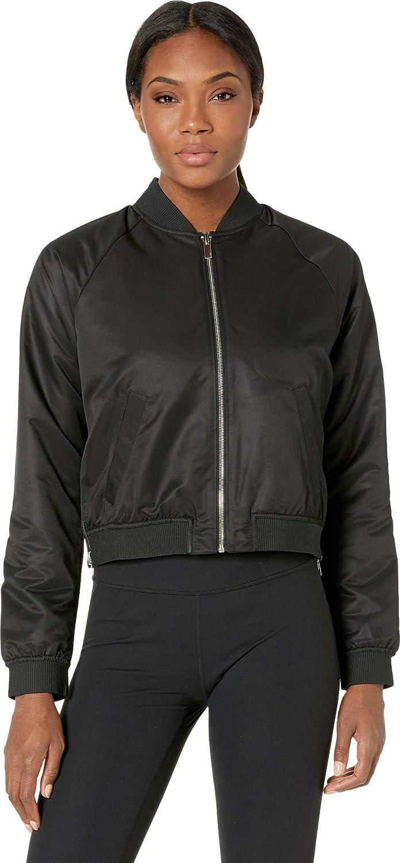 New Balance マーケット Womens Nb Heat Bomber Jacket Reversible Loft 販売期間 限定のお得なタイムセール