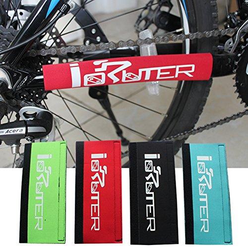 Cobertor para el marco de las cadenas de las bicicletas de montaña o de carretera, rojo
