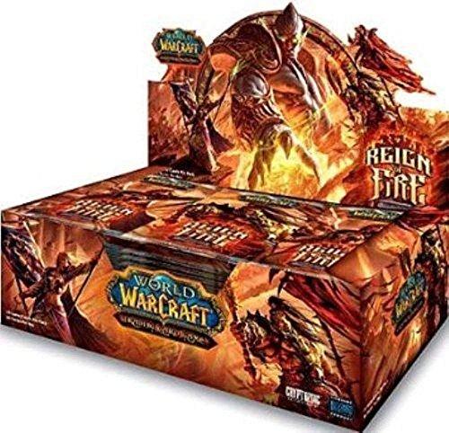 World of Warcraft TCG Regno di Fuoco - Reign of Fire - Box 36 Pack Italiano