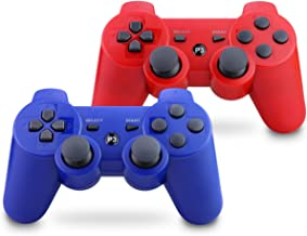 Vinklan PS3 Controller Wireless Double Shock Gamepad for Playstation 3, Six-Axis Wireless PS3 Controller with Charging Cab... photo