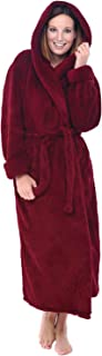 red fuzzy robe