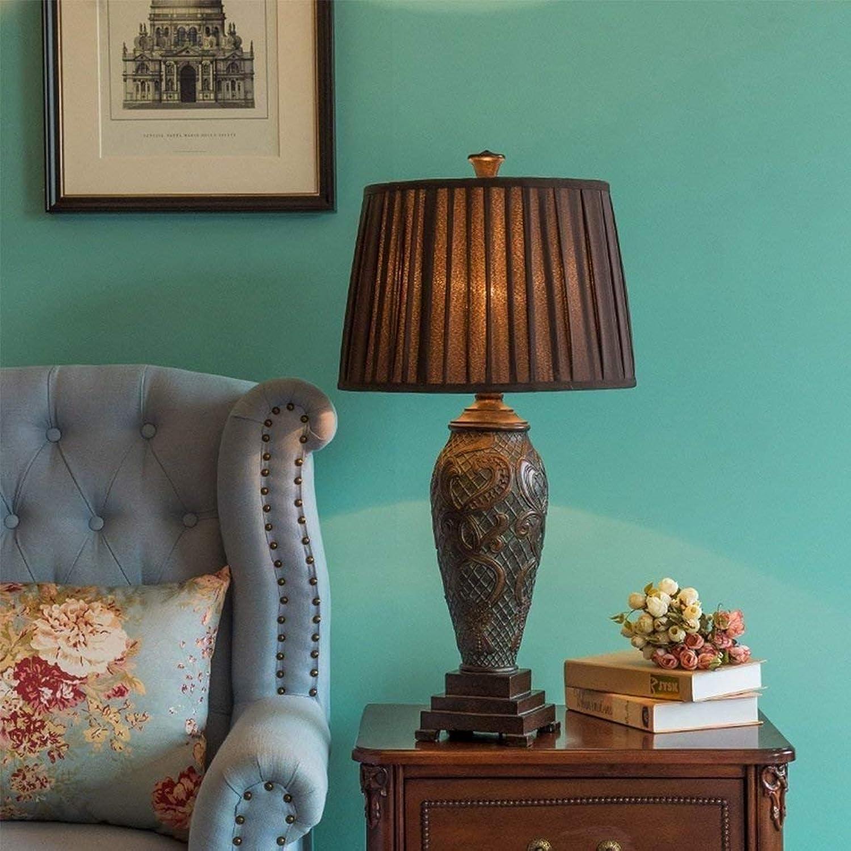 FERZA Home Tischlampe Luxus Retro Schlafzimmer Wohnzimmer Villa Villa Villa Pastoralen Atmosphäre Kunst Dekorative Lichter B07L8VZ16B | Ausgezeichnetes Preis  39e408