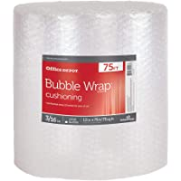Deals on Office Depot Bubble Roll, 3/16-in Thick, Clear