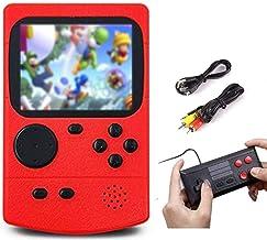 SeeKool Console de jeu portable, Console de Jeu Retro avec 500 jeux FC classiques, 3 Pouces Écran Portable Gameboy, Prend ...